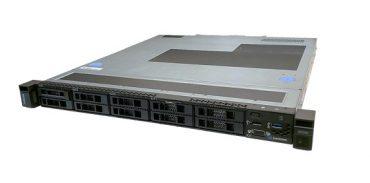 LENOVO ThinkSystem SR250 1U Rack Server, 1xIntel Xeon E-2144G 3.6GHz, 1 x16GB 2Rx8, SW RD, 8 x 2.5″ HS Bays, 1x450W PSU, 3 Year Warranty